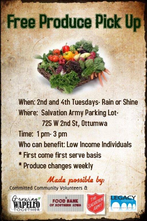 Free Produce Pickup