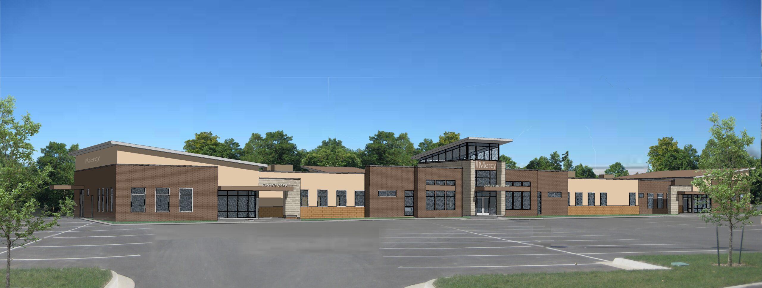 Ottumwa Clinic rendering June 2016